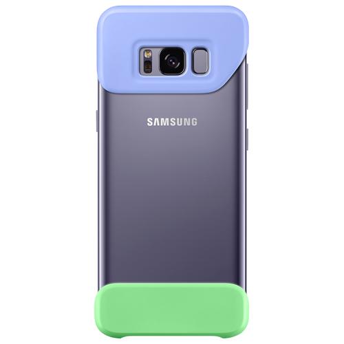 Накладка пластиковая Samsung Cover для Galaxy S8 (EF-MG950CLEGRU) Violet/Green
