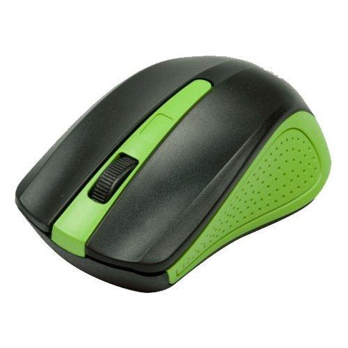 Беспроводная мышь Ritmix RMW-555 USB Black/Green