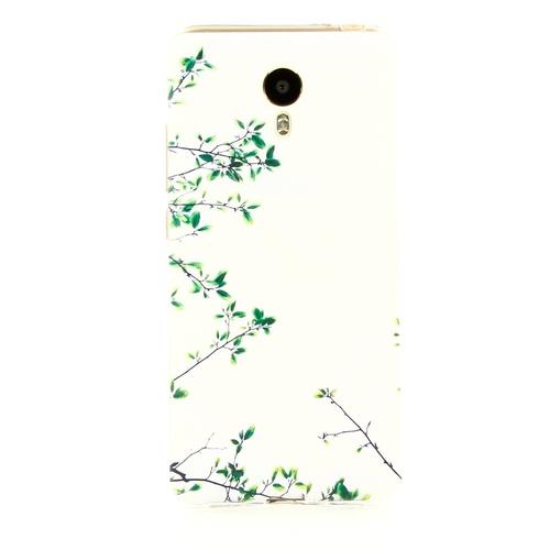 Накладка силиконовая Goodcase Meizu M3 Note Эвкалипт