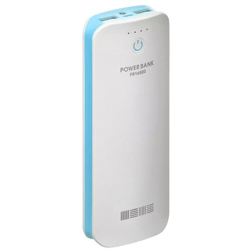 Внешний аккумулятор InterStep PB16800BR 16800mAh White/Blue
