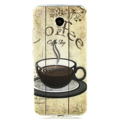 Накладка силиконовая Goodcase Meizu M5 Coffee