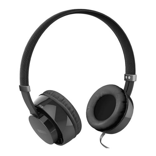 Черные наушники InterStep HDP-150 накладные, 3.5мм