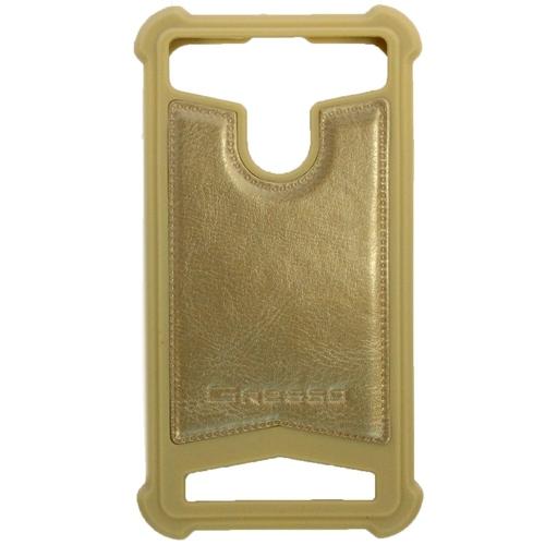 """Универсальная задняя панель Gresso классик 4,7-5,0"""" Gold"""