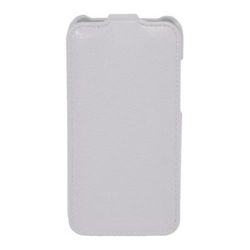 Чехол-флип для HTC Desire 600 dual SIM, Armor, белый