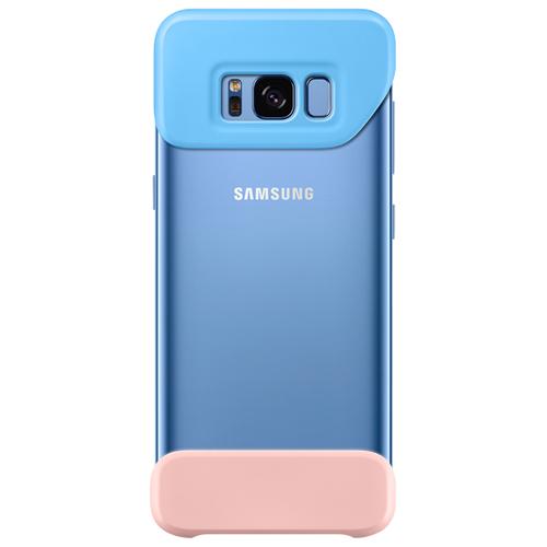 Накладка пластиковая Samsung Cover для Galaxy S8 Plus (EF-MG955CLEGRU) Blue/Peach фото