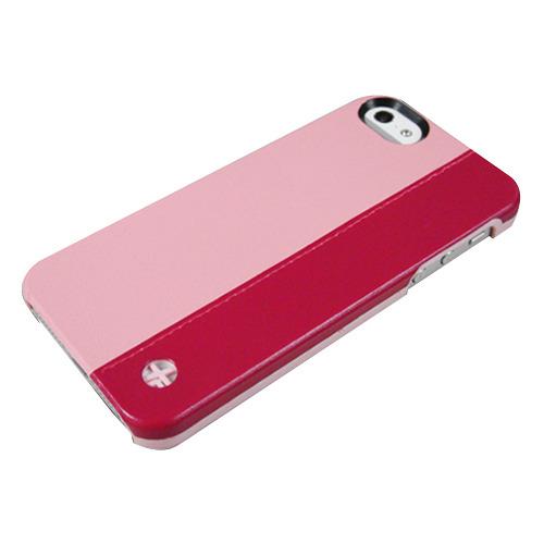 Накладка пластиковая Trexta iPhone 5/5S/SE Duo Red/Pink