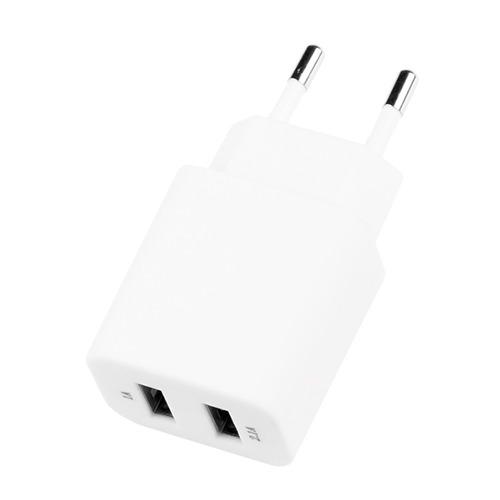 Сетевое зарядное устройство Deppa Prime Line 2USB 2100mAh White