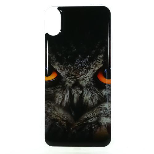 Накладка силиконовая IceTwice iPhone X Филин №1179
