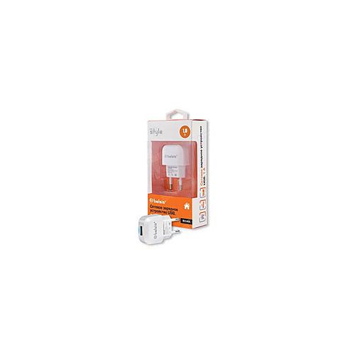 Сетевое зарядное устройство Belsis 1USB 1A BS1405 White
