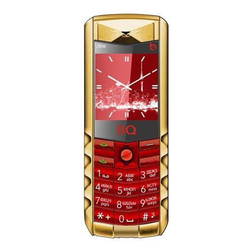 Телефон BQ BQM-1406 Vitre, Red Gold