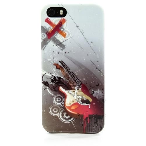 Накладка силиконовая iPhone 5/5S Гитара (SDST)