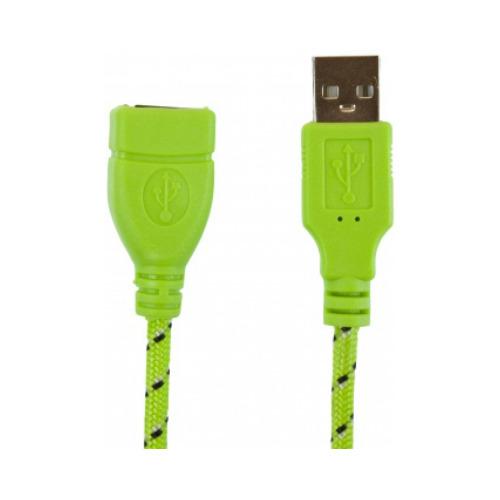 Удлинитель USB-USB 3 метра, Partner, Green