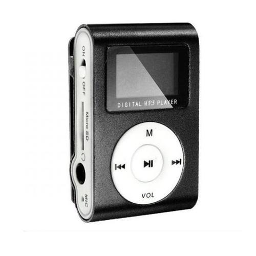 Плеер Mp3 Perfeo Music Clip Titanium Display VI-M001-Display Black