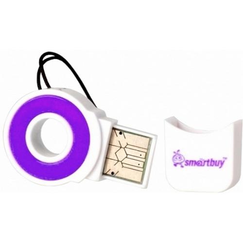 USB картридер Smartbuy SBR-708F USB 2.0 (micro SD)