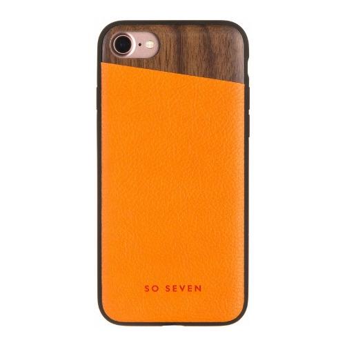 Накладка пластиковая So Seven iPhone 7 / iPhone 8 The Dandy Orange
