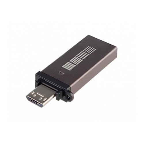 Флешка USB InterStep OTG micro USB + USB 3.0 Flash Drive на 8Гб