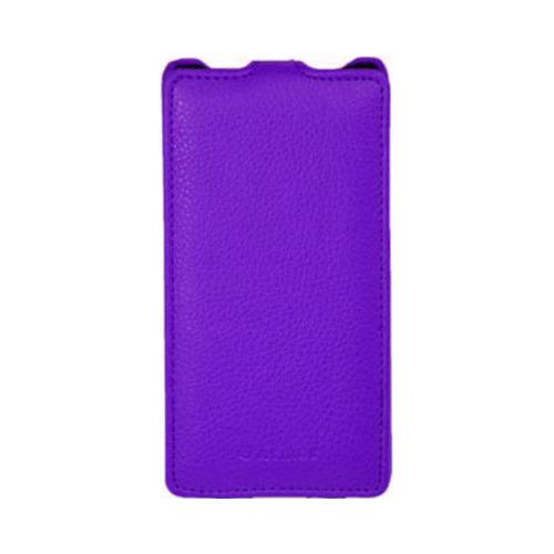 Чехол-флип для Samsung G800 Galaxy S5 mini, Armor, фиолетовый