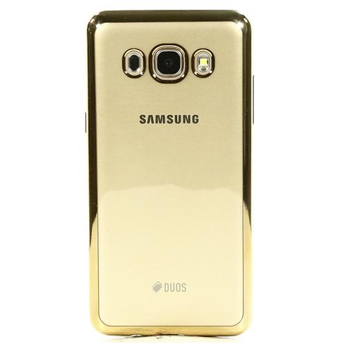 Накладка силиконовая DF Samsung Galaxy J5 (2016) Gold