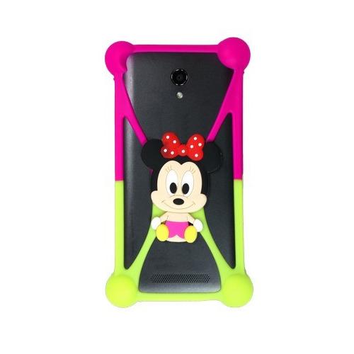 """Бампер Partner силиконовый универсальный 3.5""""-5.5"""" Minnie Mouse #4"""