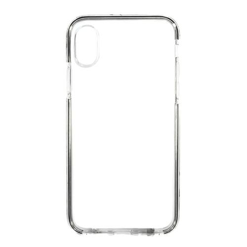 Накладка силиконовая Platina Frame Iphone X Silver