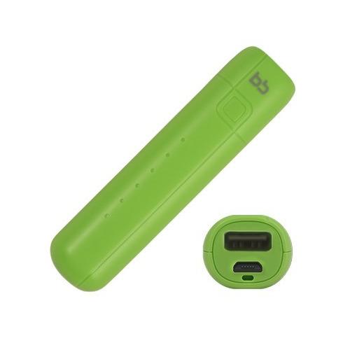 Внешний аккумулятор BB 002-001 2600 mAh Green фото