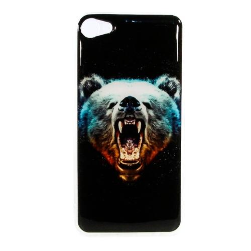 Накладка силиконовая IceTwice Meizu U10 Медведь №1024