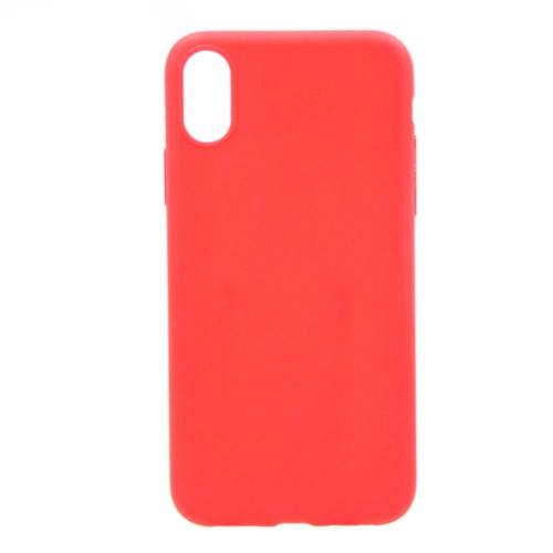 Накладка силиконовая Anycase Iphone X Matt Red
