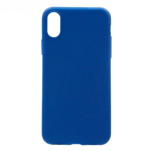 Накладка силиконовая Anycase Iphone X Matt Blue