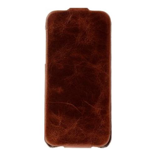 Чехол-флип для iPhone 5/5S/SE Slim Tumba Brown (KS-75537), Krusell, коричневый