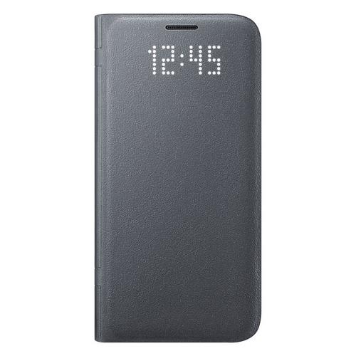 Чехол-книжка Samsung LED View Cover Galaxy S7 (EF-NG930PBEGRU) Black
