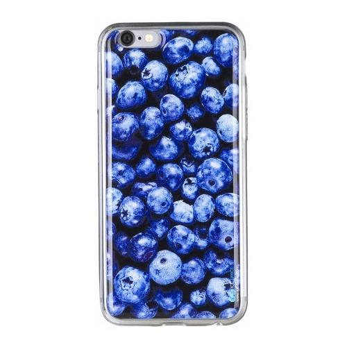 Накладка силиконовая IceTwice iPhone 6/6S Черника №1016