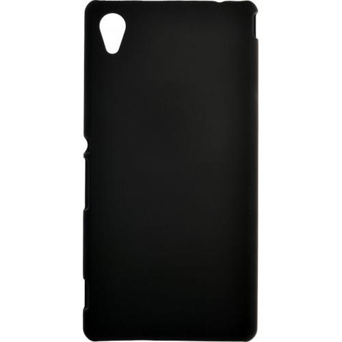 Накладка пластиковая skinBox Sony Xperia M4 Aqua Black