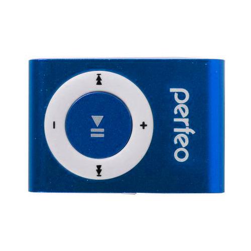Плеер Mp3 Perfeo/Hilp Music Clip Titanium C2, Blue