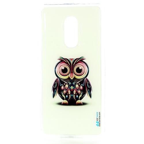 Накладка силиконовая IceTwice Xiaomi Redmi Note 4X Сова №730