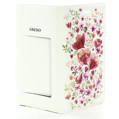 Чехол-книжка Gresso универсальный (5,1-5,3'') Вива  гор. с сил.шел. Pink фото 7