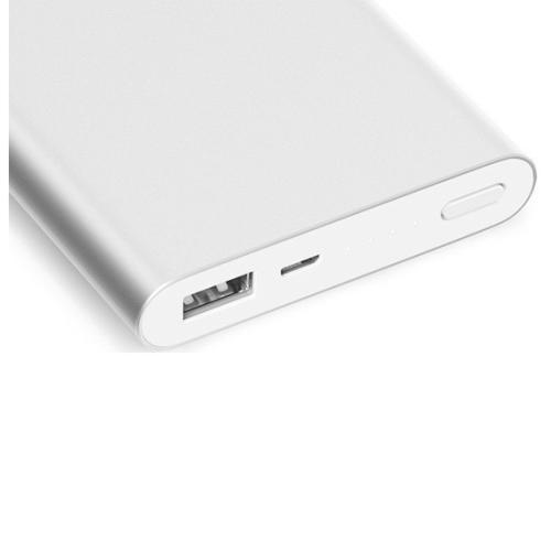 Внешний аккумулятор Xiaomi Mi Bank 2i 10000 mAh (PLM09ZM) Silver фото 2