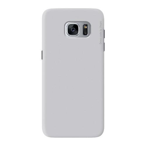 Накладка пластиковая Deppa Air Case Samsung Galaxy S7 Silver