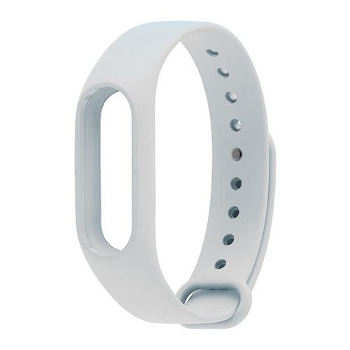 Ремешок для фитнес-браслета Xiaomi Mi Band 2 White