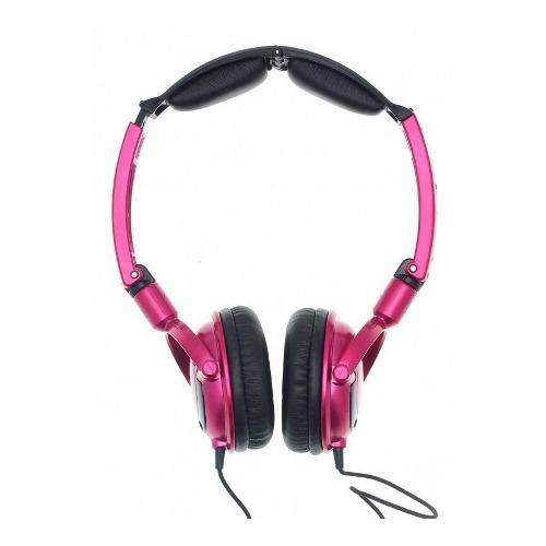 Розово-черные накладные наушники Skullcandy Lowrider (S5LWFY-274)
