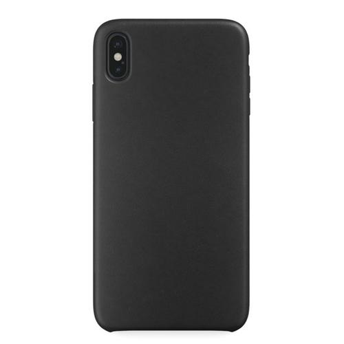 Накладка кожаная uBear Capital Leather Case iPhone Xs Max Black фото