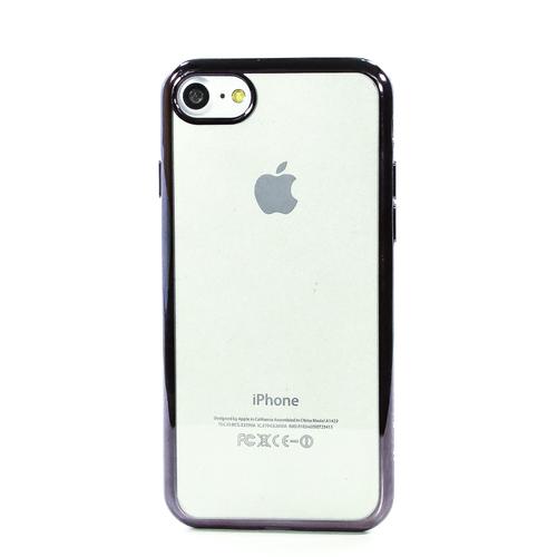 Накладка силиконовая Celly Laser iPhone 7/8 Grey
