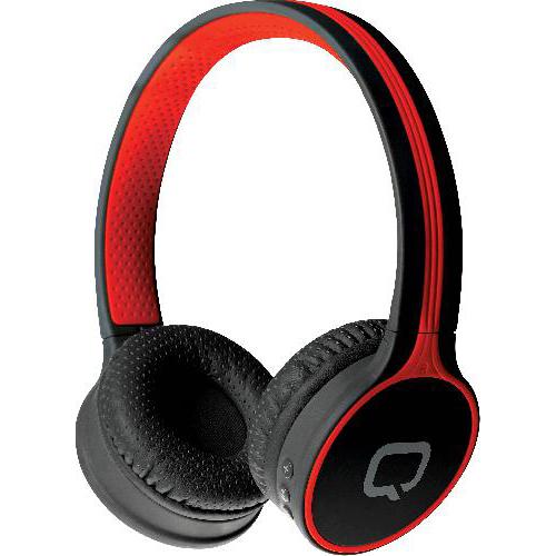 Bluetooth стереогарнитура Qumo Accord 3 (BT-0020) накладная Black-Red