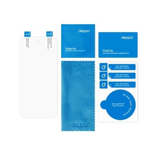 Чехол-книжка для Samsung N9000 Galaxy Note 3 Wallet Cover и защитная пленка, Deppa, белый фото 3