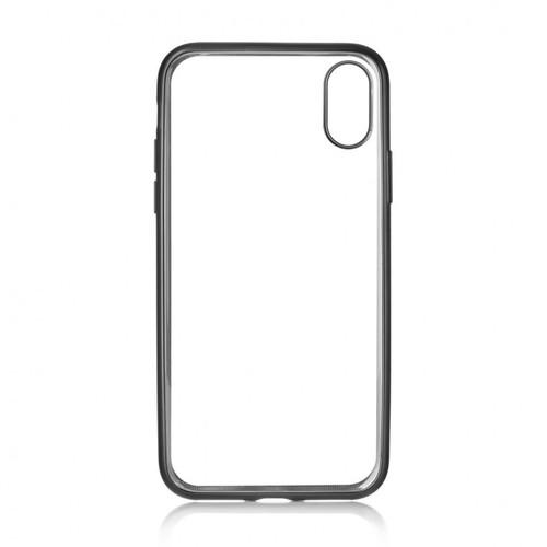 Накладка силиконовая uBear Frame Tone Case iPhone X Black