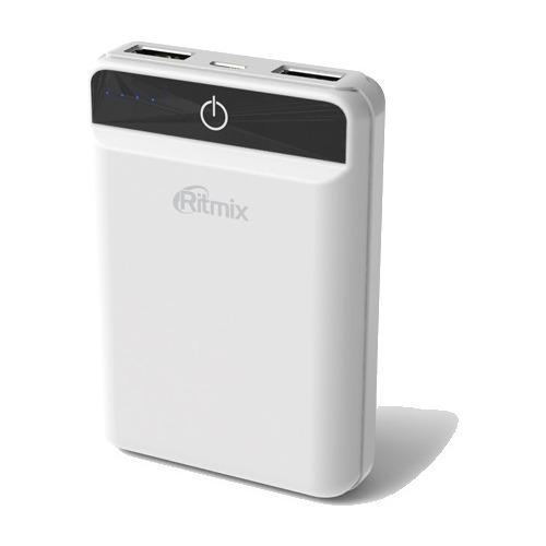 Внешний аккумулятор RITMIX RPB-10003L 10000 mAh White