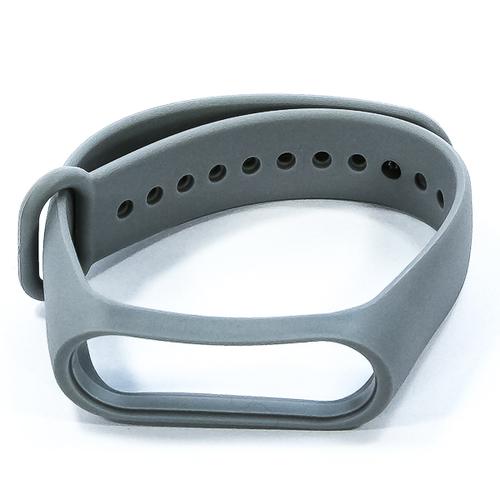 Ремешок Goodcom для фитнес-браслета Xiaomi Mi Band 3 Grey