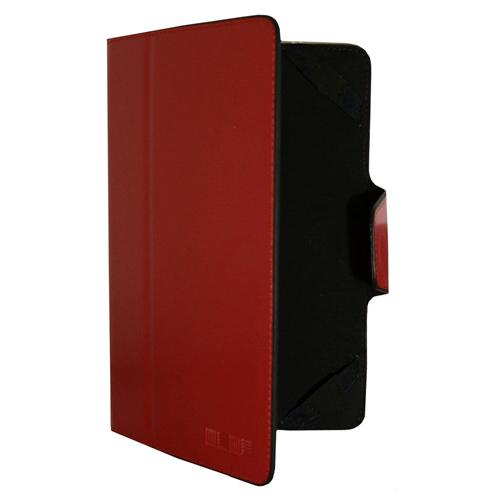 Чехол-книжка InterStep Vels р5М 6.5-7' для эл. устройств кожаный красный