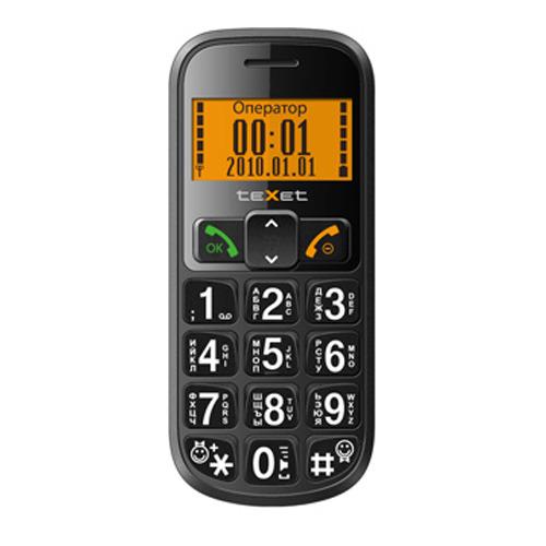 Телефон Texet TM-B200 Black