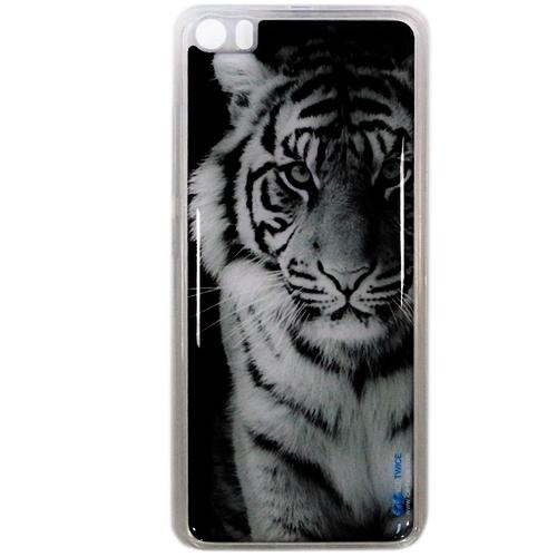 Накладка силиконовая IceTwice Xiaomi Mi5 Тигр №519