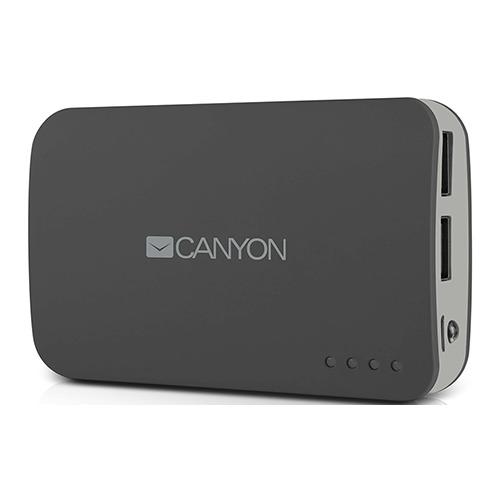 Внешний аккумулятор Canyon CNE-CPB78 7800 mAh Dark Grey